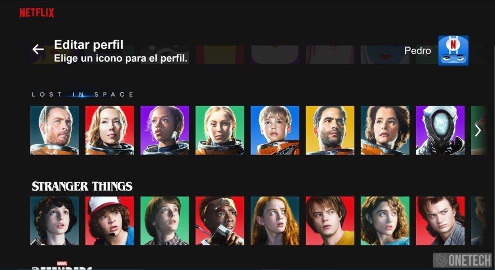 Netflix añade nuevos iconos de perfil basados en sus películas y series
