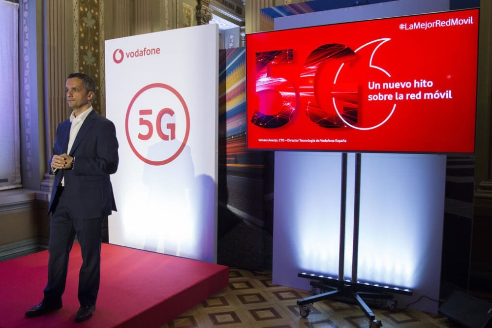 Vodafone comienza el despliegue 5G en diversas ciudades de España 1