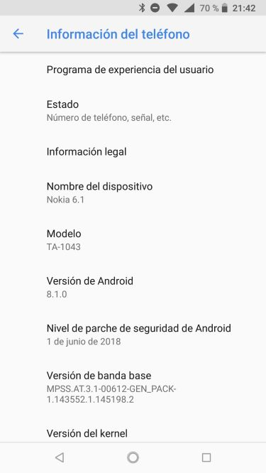 Nokia 6.1, análisis. Un teléfono bonito y potente, pero un tanto irregular 12