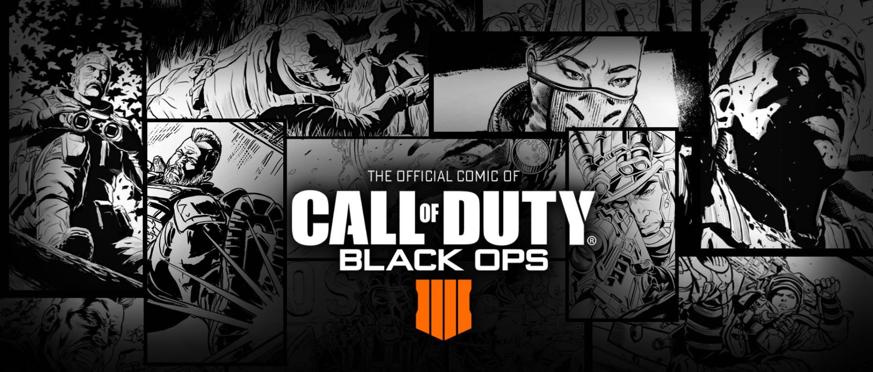 Call of Duty: Black Ops 4, ya tiene su comic oficial