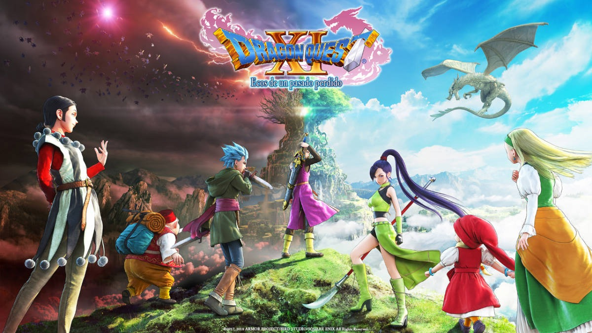 DRAGON QUEST XI: Ecos de un pasado perdido, disponible para PlayStation 4 y STEAM