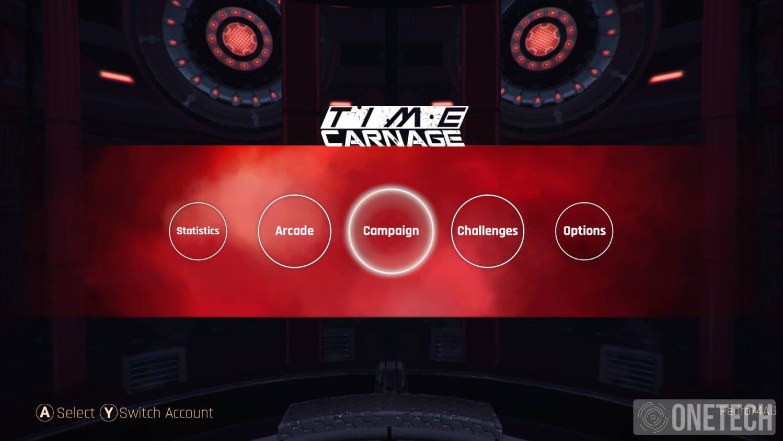 Time Carnage, lo probamos en Xbox One 1