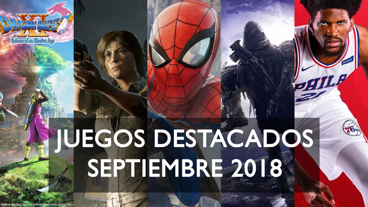 Juegos destacados que se lanzan en septiembre de 2018 1