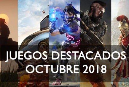 Lanzamientos juegos destacados 2018