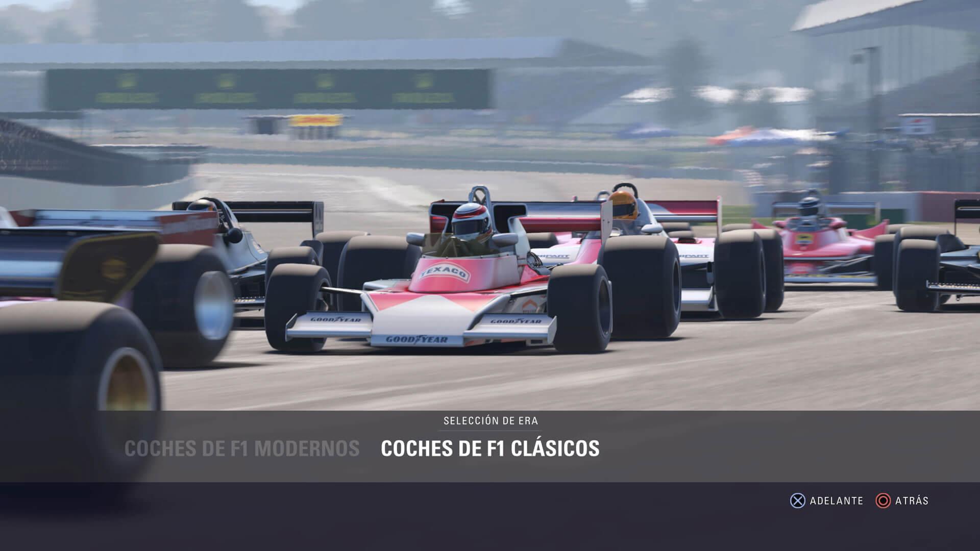 F1 2018 (coches modernos y clásicos)