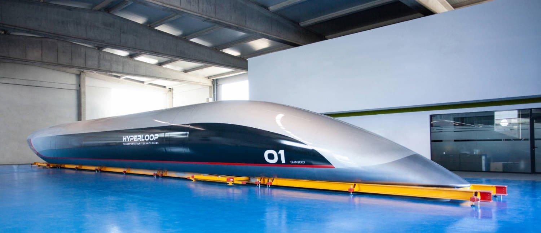 HyperloopTT Capsule unveil