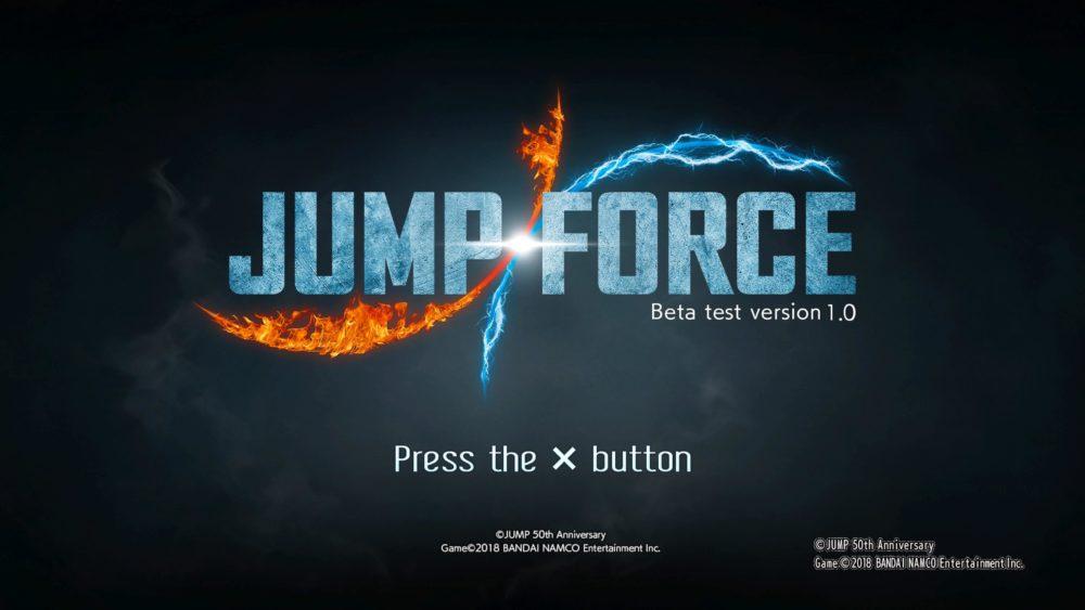 jump force beta portada