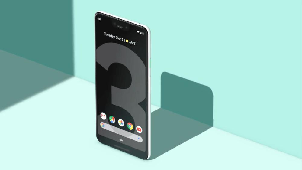 Pixel 3 actualización de Mayo
