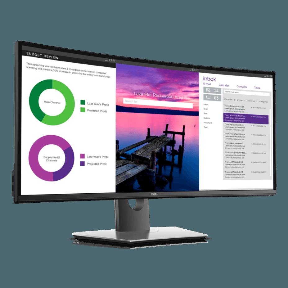 monitor curvo Dell UltraSharp 34 (U3419W)