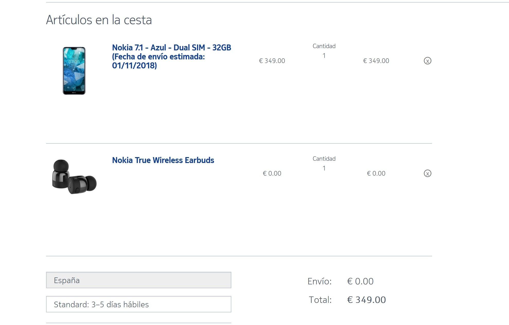 Nokia 7.1, ya conocemos precio y disponibilidad en España 1