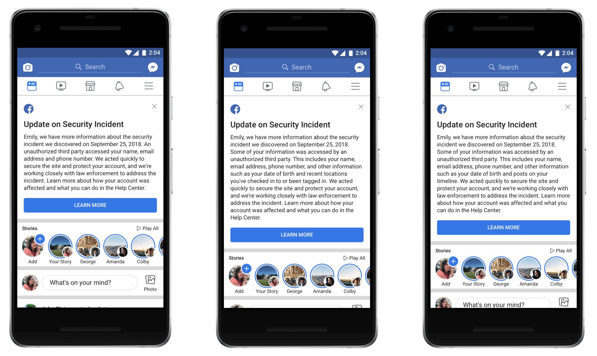 Facebook rebaja las cifras del hackeo a sus servicios,