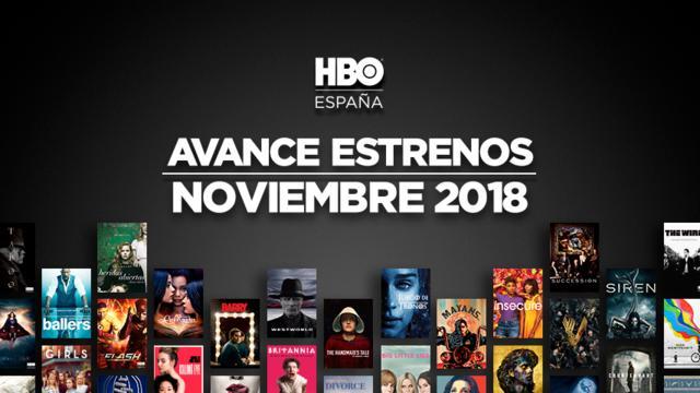 Novedades HBO para este Noviembre