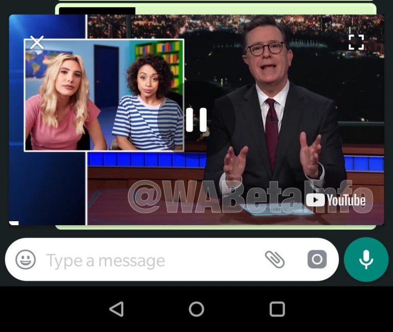 WhatsApp ya cuenta con modo PiP en la beta de Android 1