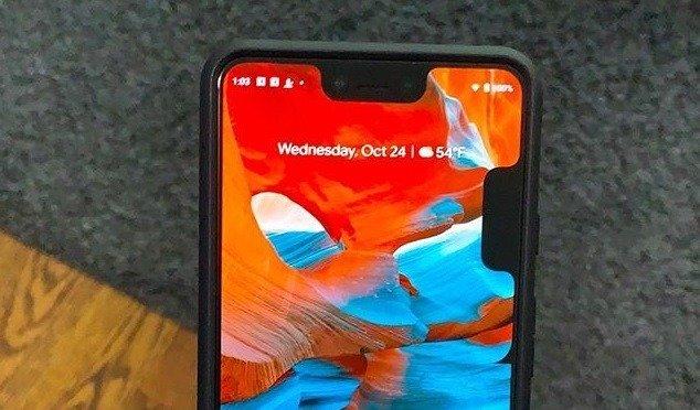 Algunos Pixel 3 XL muestran un doble notch