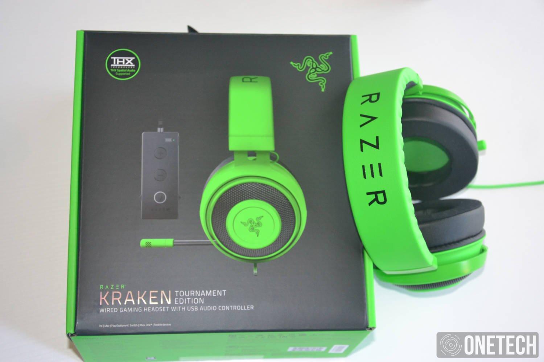 Razer Kraken Tournament Edition con THX Spatial Audio, este es nuestro análisis 1