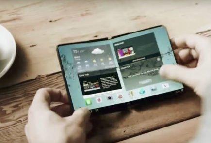 El teléfono plegable de Samsung podría verse en su conferencia para desarrolladores 2
