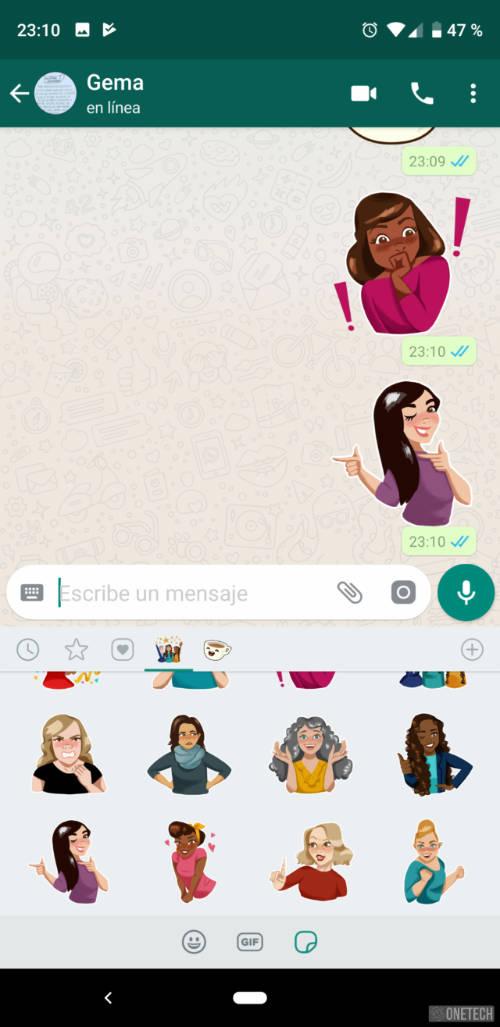 Los Stickers llegan a WhatsApp, aunque de momento solo a la beta 1