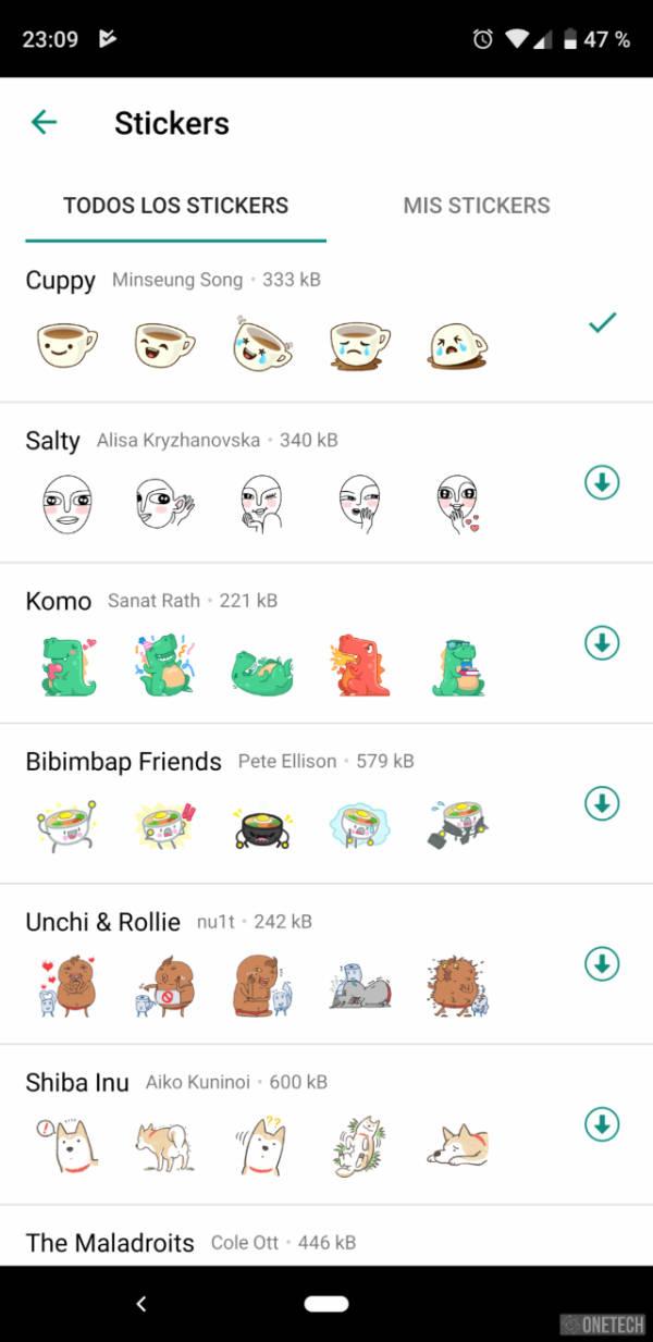 Los Stickers llegan a WhatsApp, aunque de momento solo a la beta 2