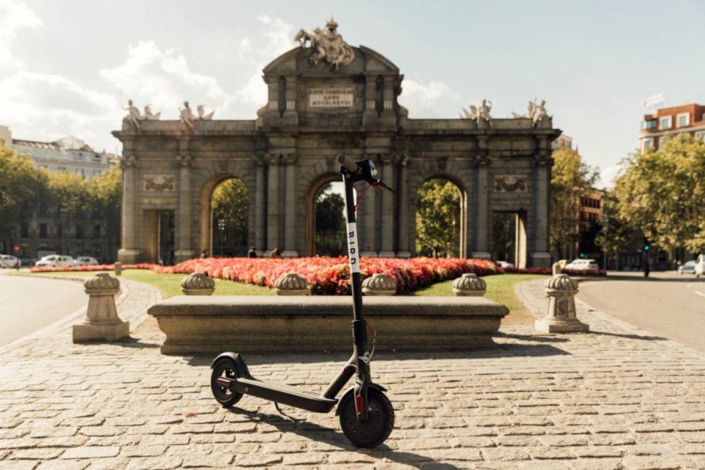 uso de patinetes en Madrid