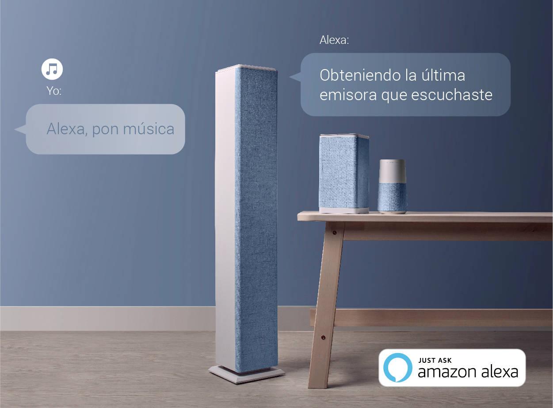 Energy Sistem presenta sus altavoces con Alexa integrada