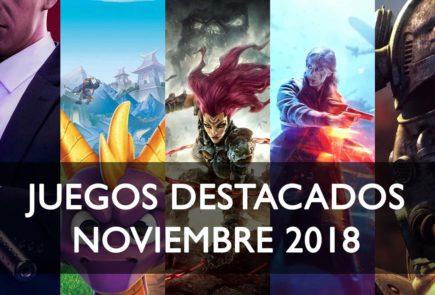 Juegos destacados noviembre 2018