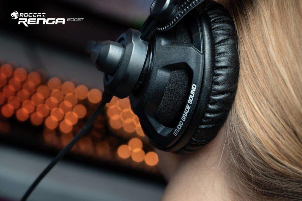 Roccat presenta sus nuevos auriculares Renga Boost 3