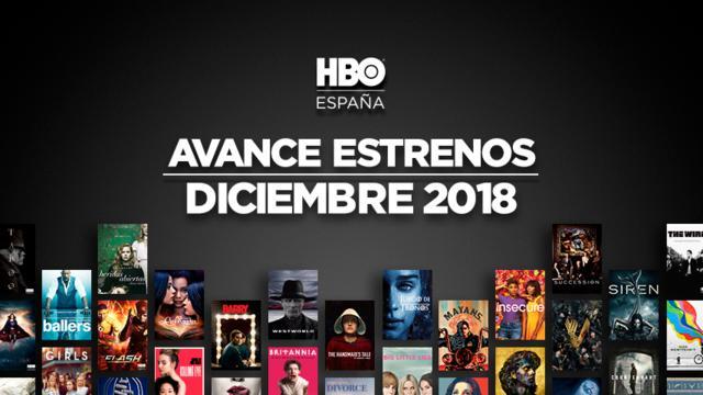 HBO Estrenos Diciembre 2018