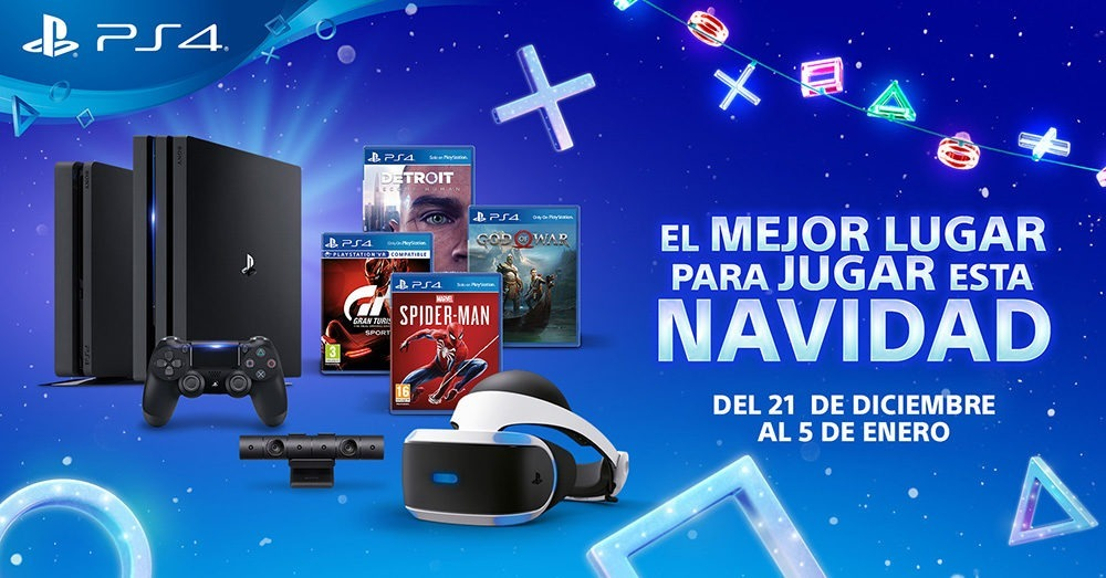 Campaña Navidad PlayStation - Ofertas para Navidad