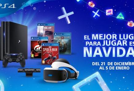 Campaña Navidad PlayStation