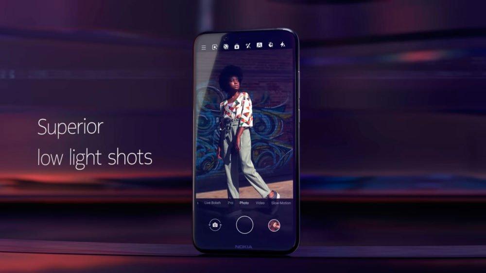 Nokia 8.1 toma fotos de calidad con condiciones de baja luminosidad