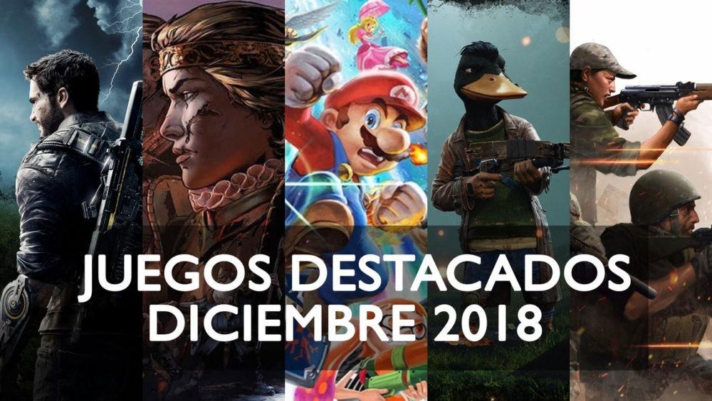 Juegos Destacados Que Se Lanzan En Diciembre De 2018