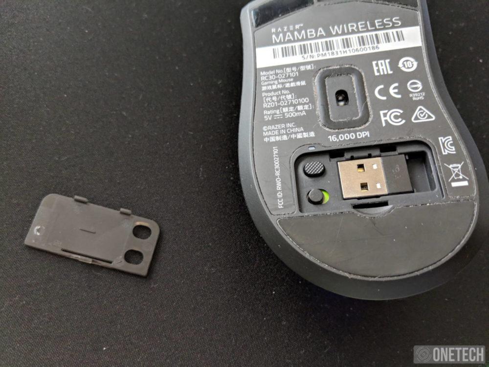 Razer Mamba Wireless [2018], análisis de este ratón inalámbrico para gamers 2