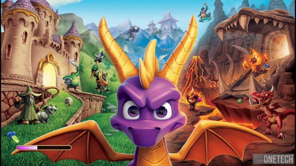 Spyro Reignited Trilogy, analizamos la puesta al día de este pequeño dragón 10