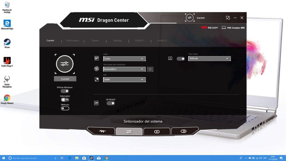 MSI P65 Creator, analizamos este portátil para creadores y gamers 8