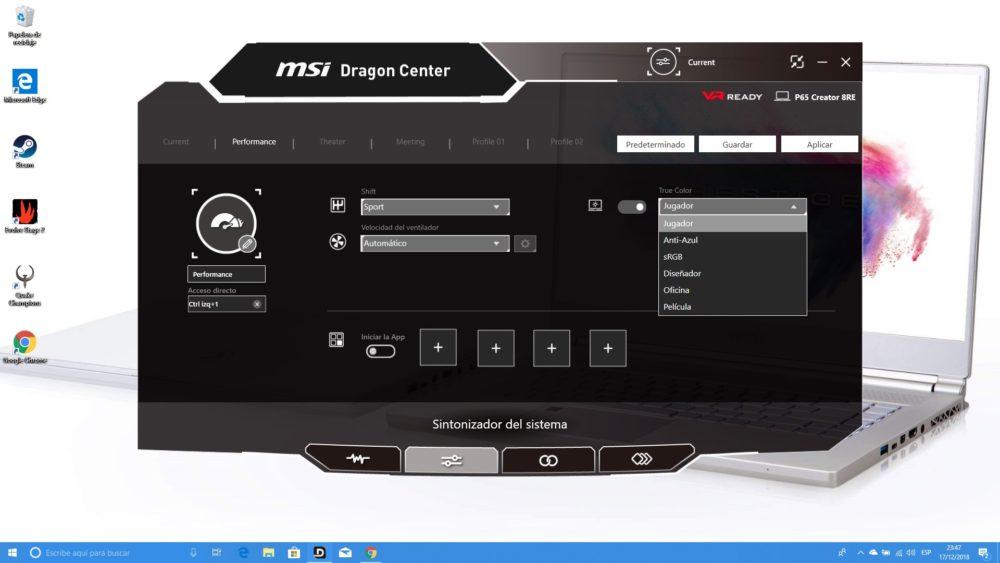 MSI P65 Creator, analizamos este portátil para creadores y gamers 9