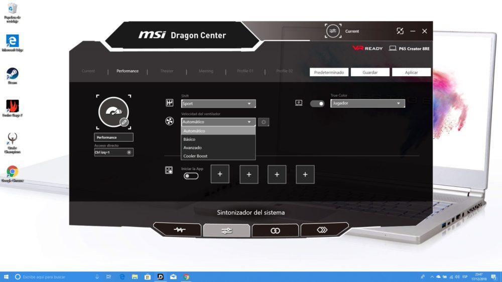 MSI P65 Creator, analizamos este portátil para creadores y gamers 10