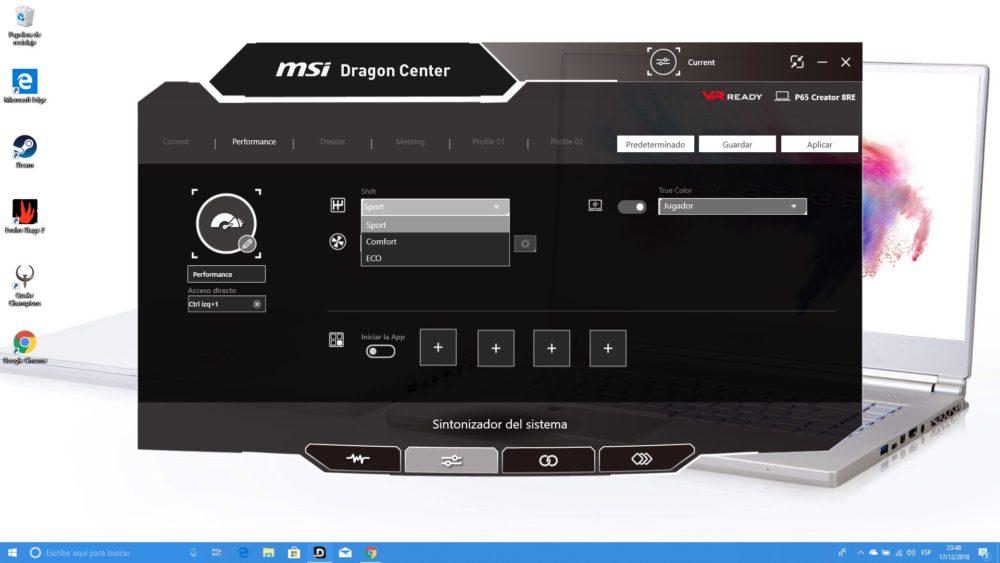 MSI P65 Creator, analizamos este portátil para creadores y gamers 11