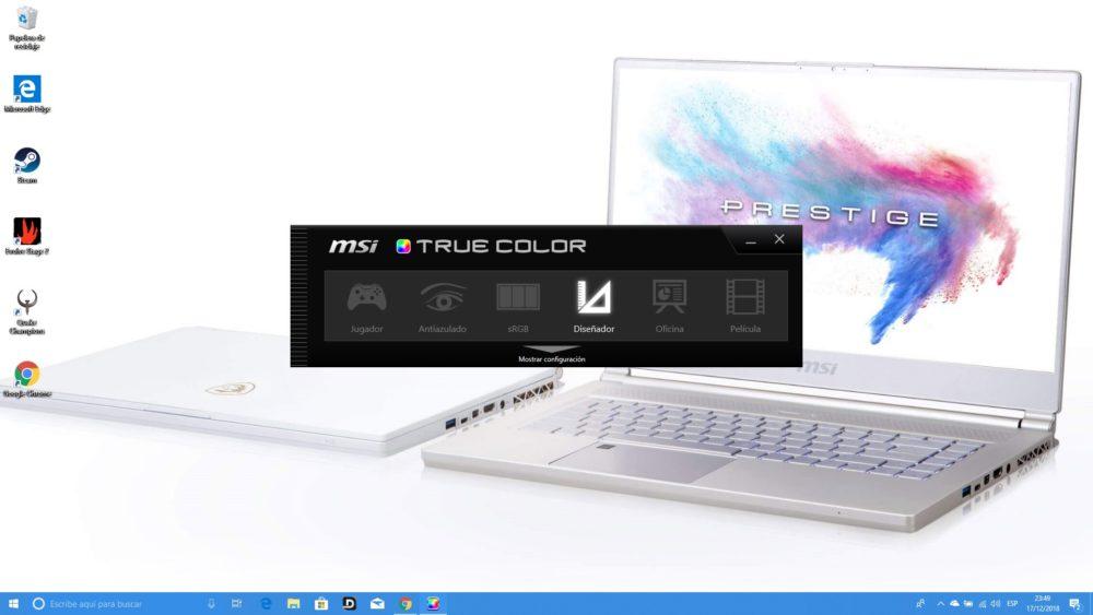 MSI P65 Creator, analizamos este portátil para creadores y gamers 5