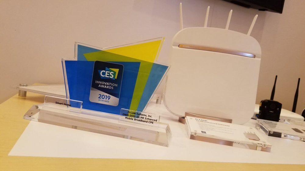 D-Link 5G CES Award