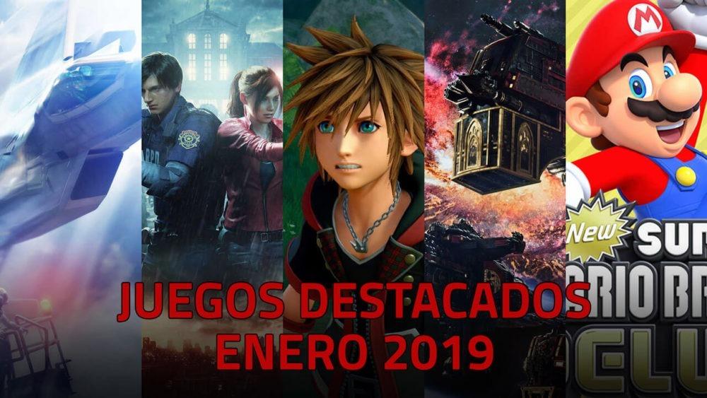 Juegos Destacados Que Se Lanzan En Enero De 2019