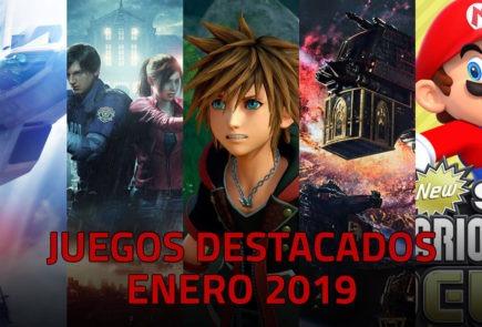 Juegos destacados que se lanzan en enero de 2019 3