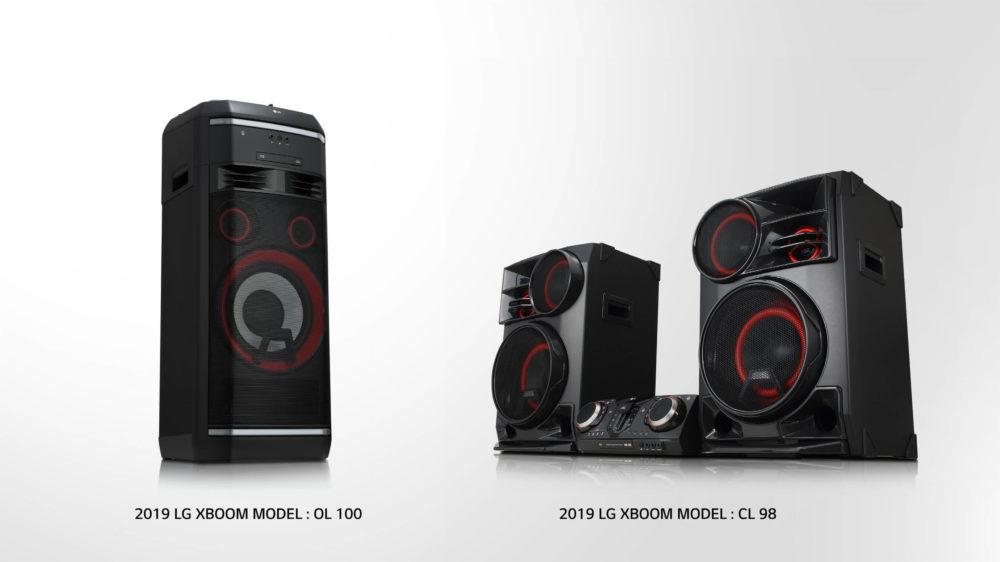 LG anuncia su nueva gama de altavoces XBOOM
