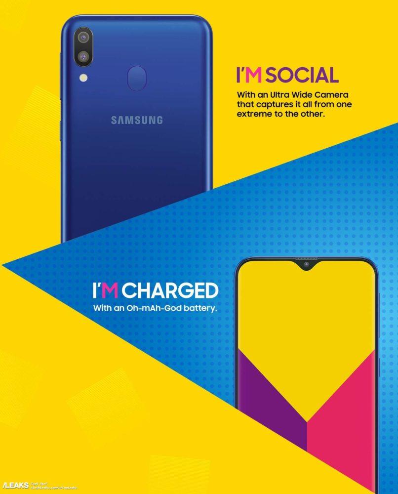 Samsung Galaxy M10 y Samsung Galaxy M20