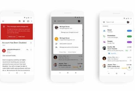 Gmail presenta su nuevo diseño para móvil 2