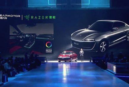La iluminación Razer Chroma llegará a los coches eléctricos de LeapMotor 1