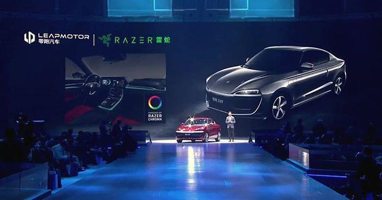 La iluminación Razer Chroma llegará a los coches eléctricos LeapMotor