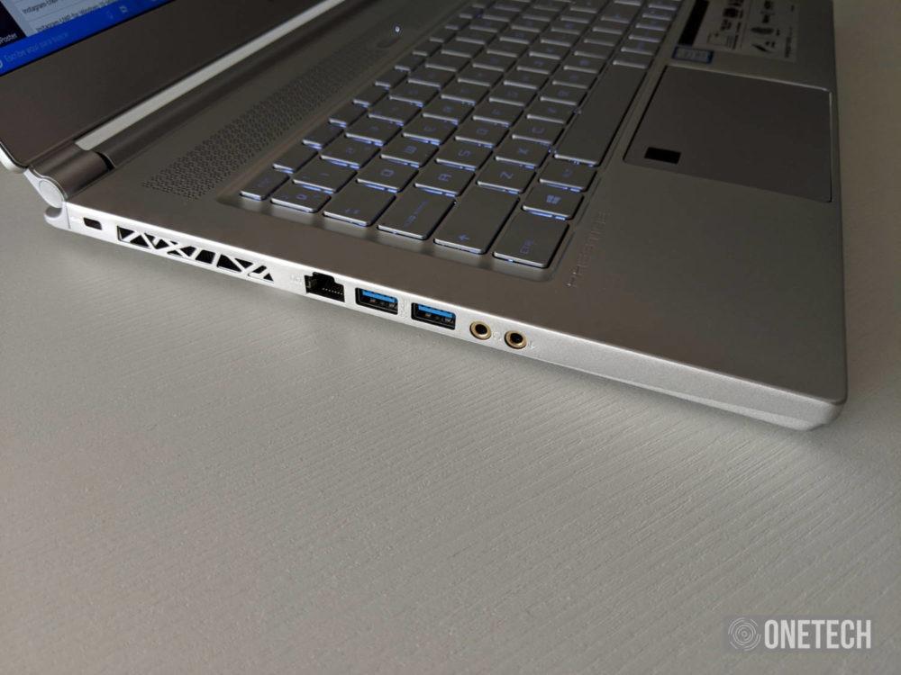 MSI P65 Creator, analizamos este portátil para creadores y gamers 3