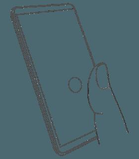 Estas son las animaciones del sensor de huellas en la pantalla del Nokia 9 1