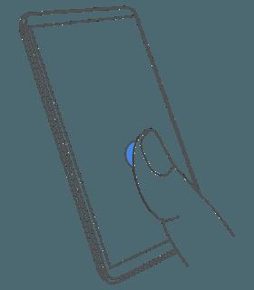 Estas son las animaciones del sensor de huellas en la pantalla del Nokia 9 2