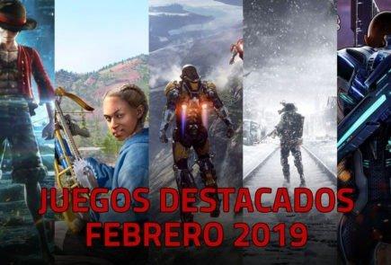 Juegos destacados que se lanzan en Febrero de 2019 2